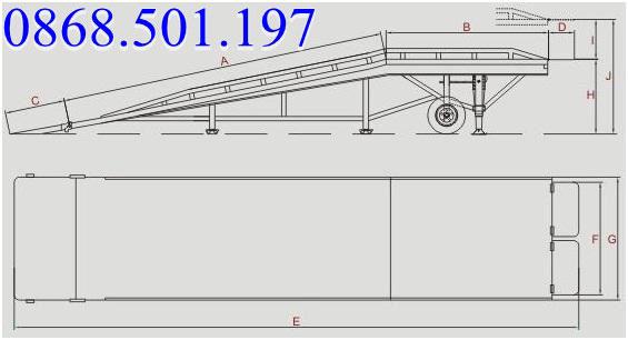 mua cầu nâng container