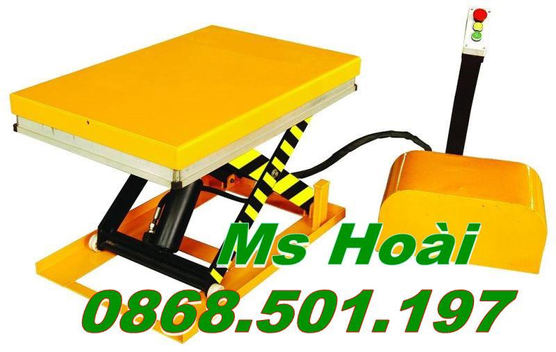 bàn nâng điện 300-500kg
