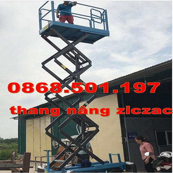 Thang Nâng Ziczac 3m 6m 9m 12m 14m