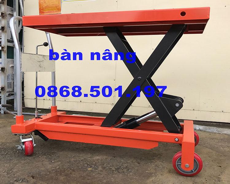 bàn nâng thủy lực 500kg giá rẻ