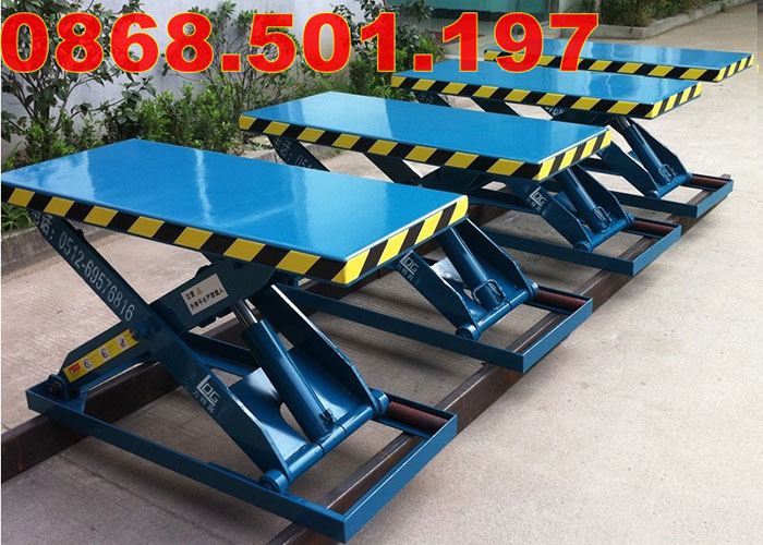 bàn nâng điện thủy lực
