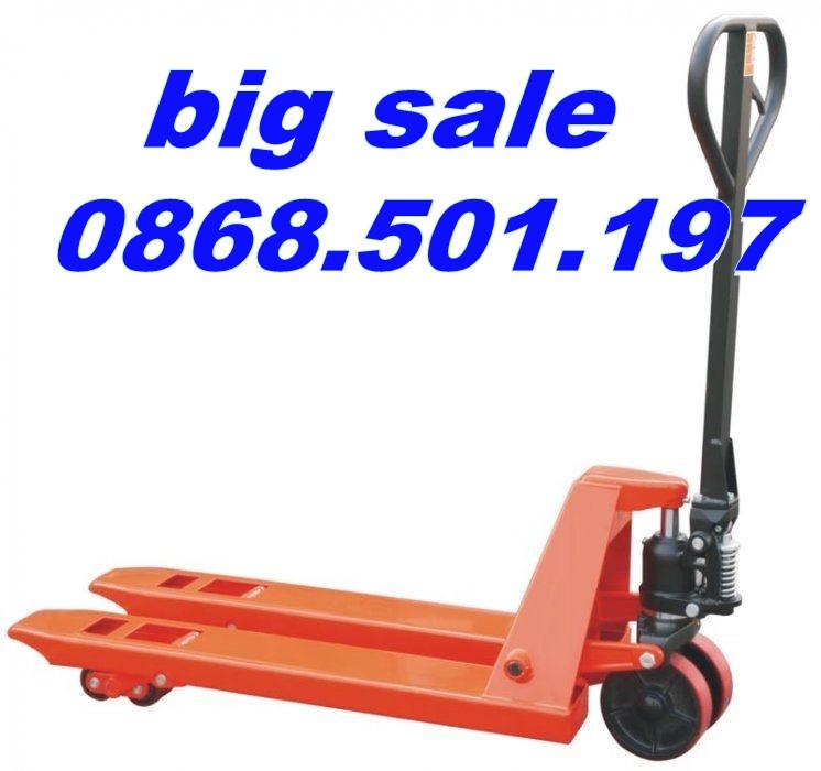 xe nâng tay 2.5 tấn 3 tấn