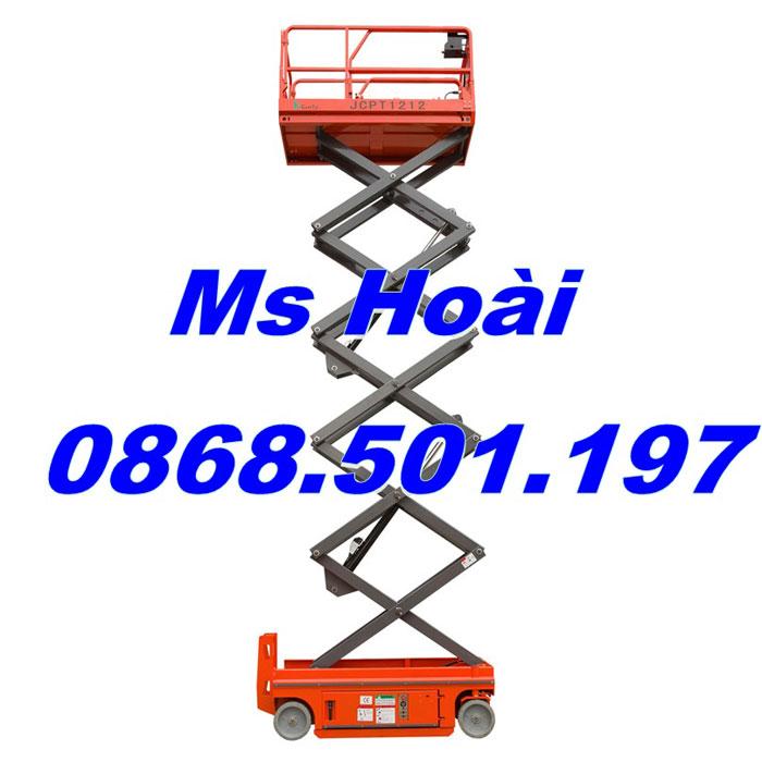 xe thang nâng người 6m 8m 10m 12m