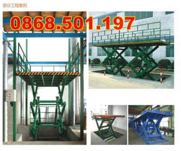 bàn nâng điện 500kg 1 tấn 2 tấn