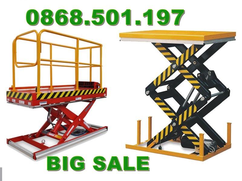bàn nâng điện 1 tấn Staxx