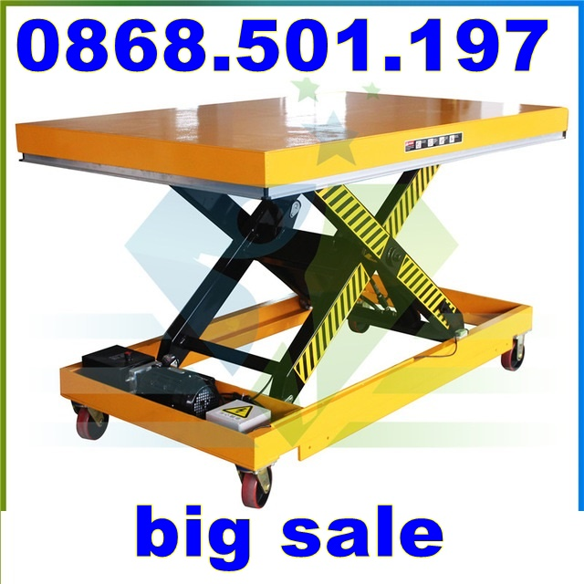 bàn nâng điện HW 1 tấn