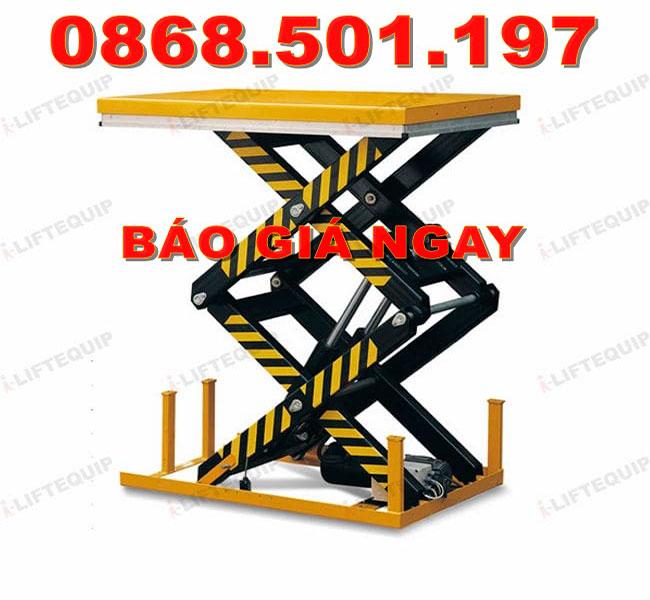 Bàn nâng điện 2 tấn Staxx
