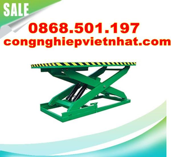 bàn nâng điện 1 tấn cố định