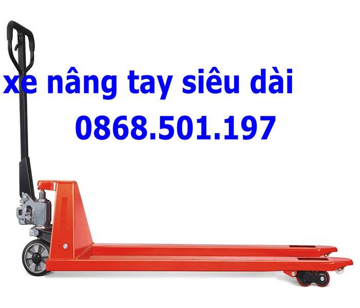 xe nâng tay càng dài 1600mm 1800mm 2000mm